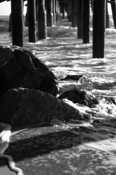 Balboa beneath pier