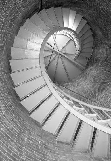 Inside portsmouth lighthouse