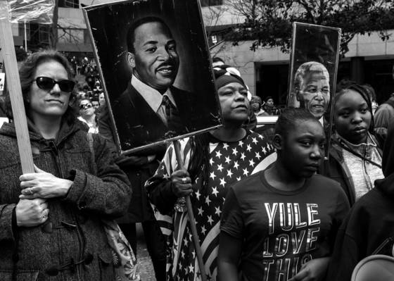 Martin luther king rally no  1
