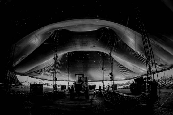 Raising the big top