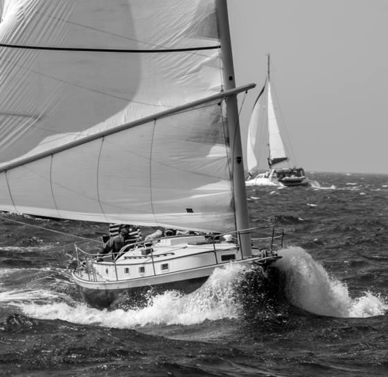 Stiff winds