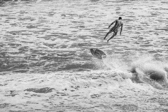 Skim surfer