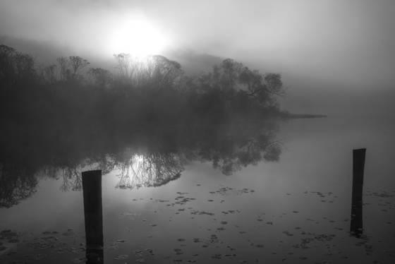 Punderson in fog  4