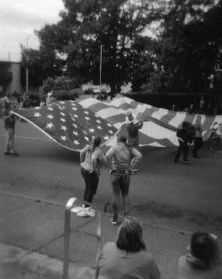 July 4 big flag