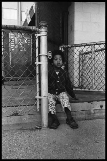 Kid on porch