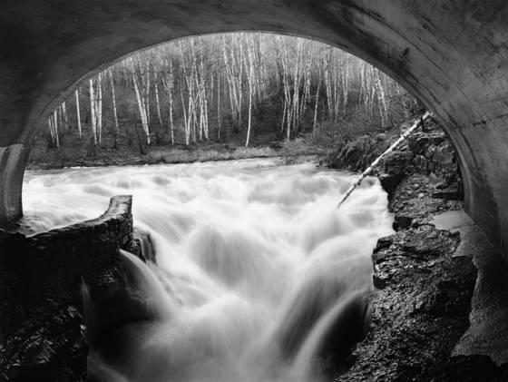 Turbulence river