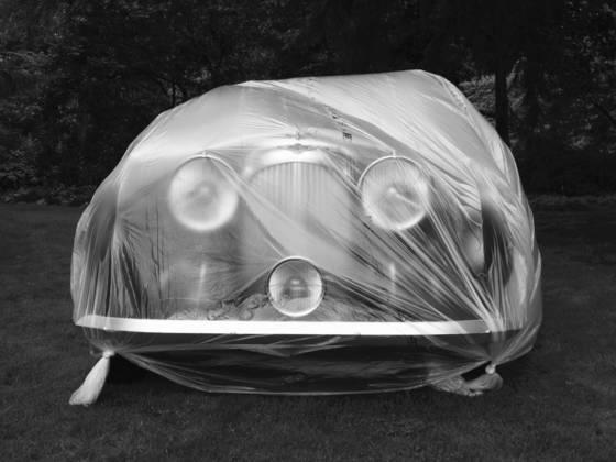 Lagonda under wraps