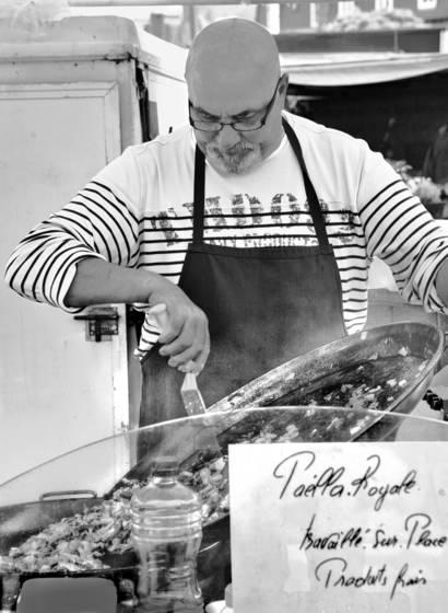 Whelk paella