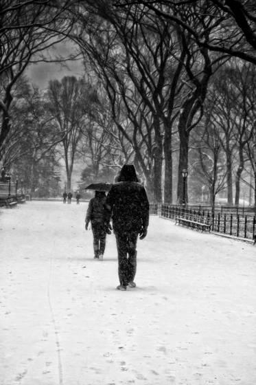 Storm promenade walk