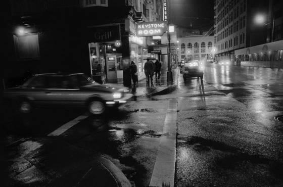 Wet friday night
