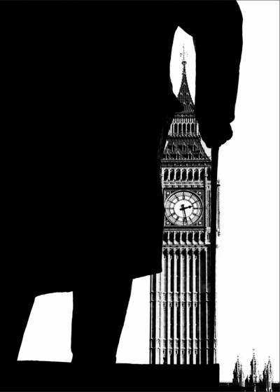 Winston churchill and big ben