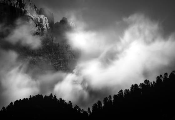 Mountain light dolomites ii