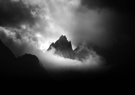 Mountain light dolomites iii