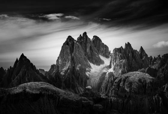 Mountain light dolomites v