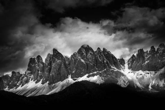 Mountain light dolomites viii
