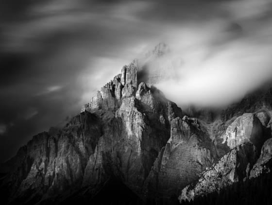 Mountain light dolomites viiii