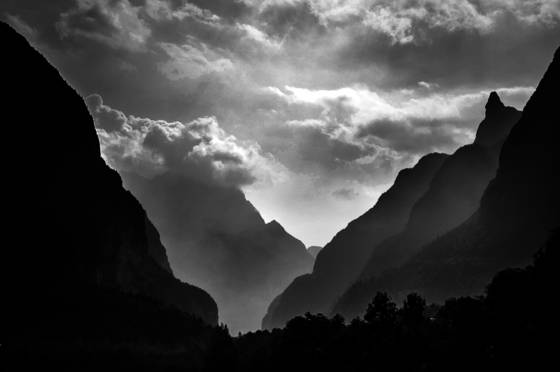 Mountain light dolomites x