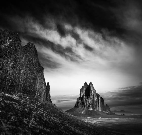 Shiprock valley