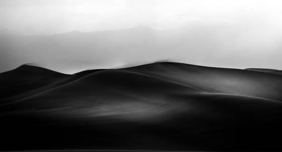 The black dunes
