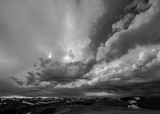 Mountain storm