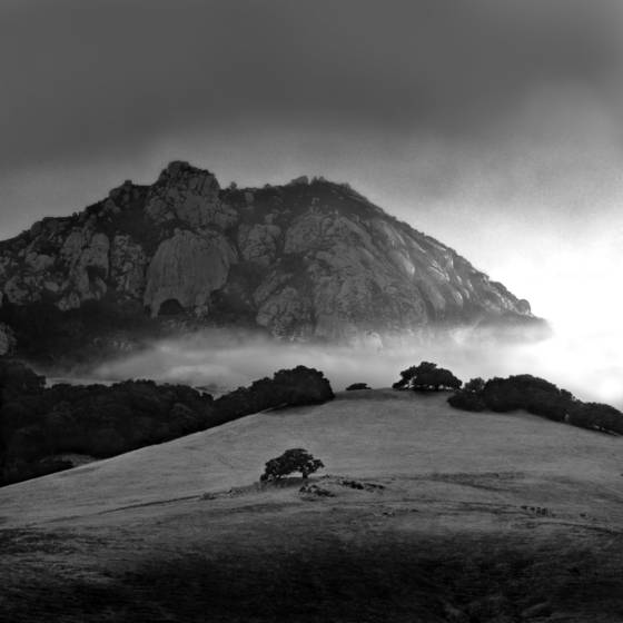 Bishop peak fog