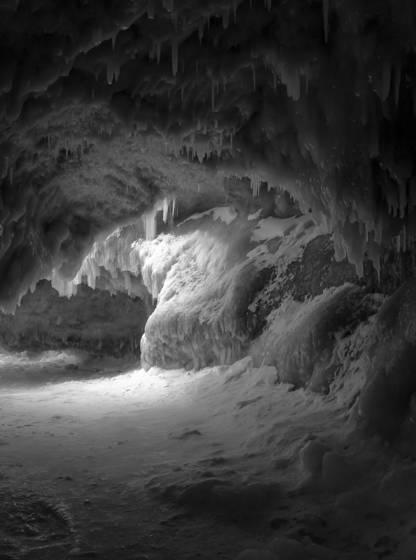 Lk mi ice cave