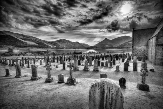 Glenn coe graveyard