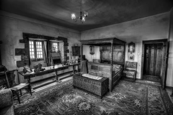 Lindisfarne castle bedroom