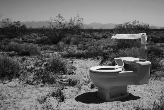 Desert pit stop