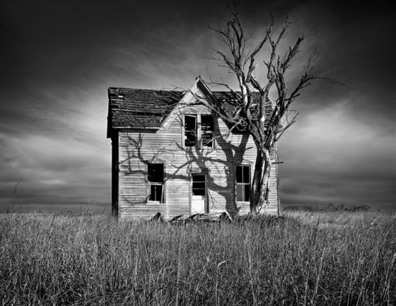 Deserted homestead