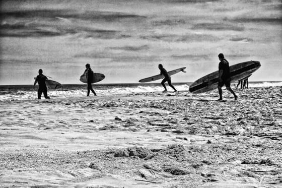 Surfing surfer beach