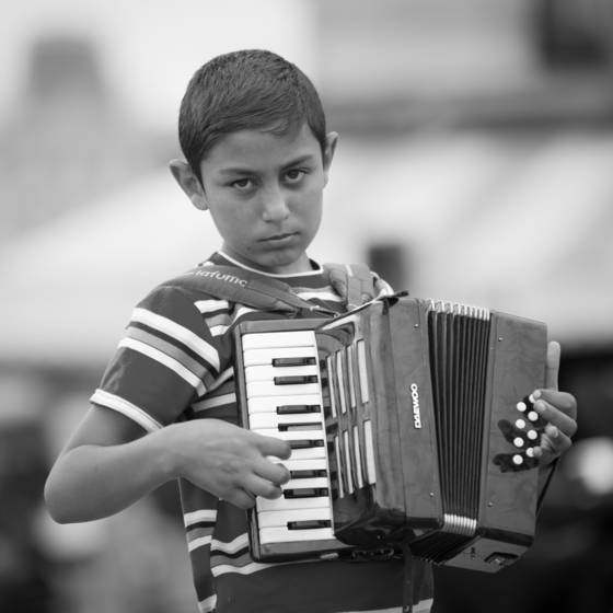 The boy and his accordion i