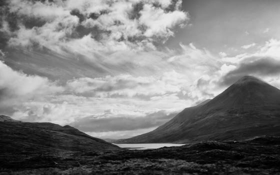Scottish mountains and skies 1