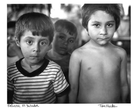 Refugee boys
