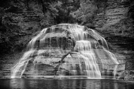 Round falls