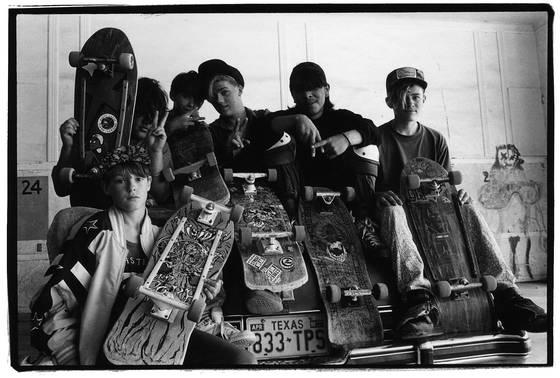 Skateboard boys