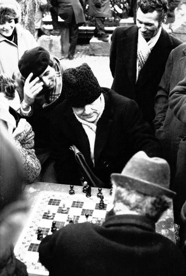 Chess in cismigiu park