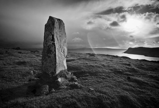 Standing stone of skye