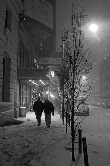 Blizzard on 54th st