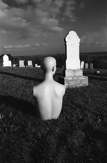 Mannequin cemetery