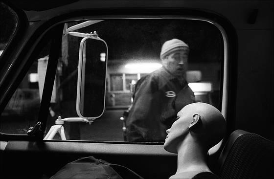 Mannequin truck stop i70