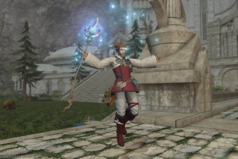 Top 6 FFXIV Body Pieces for Male Healers - Glamour Hunt