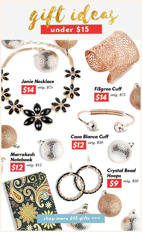 Gift Ideas Under $15