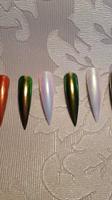 Chrome/mermaid pigments!