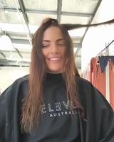nside the Natalie Rolt Designs Studio with ELEVEN EDU's Jamie Lee using ELEVEN Australia Miracle Hair Treatment and I Want Body Volume Spray