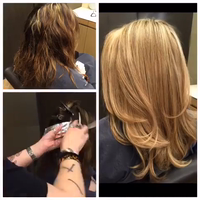 Lots of foils with joico bleach and continuum