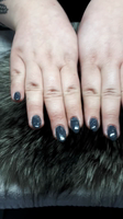 Hand painted SLATE MARBLE NAIL art