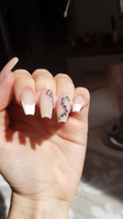 These nail crystals though!