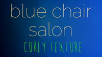 blue chair does  curly hair