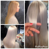 Blonde transformation with video!